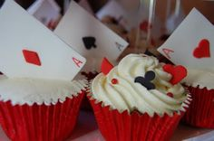 Dotty about Cake: Close up of Vegas Cupcakes