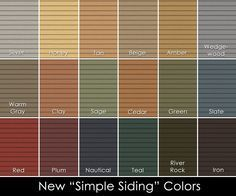 Best Vinyl Siding Colors Why Can T I Find Warm Colors That Aren T A Gradient Of Yellow Mystic Blue 400 x 300