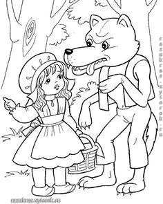 coloring pages for little red riding hood, coloring pages of little red riding hood, free coloring pages little red riding hood, little red riding hood coloring pages, mofassel. Angel Coloring Pages, Cute Coloring Pages, Disney Coloring Pages, Coloring Books, Coloring Sheets For Kids, Adult Coloring, Red Riding Hood Wolf, Little Red Hen, Princess And The Pea