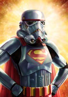 Star Wars x Superman - Star Wars Super Trooper par Robert Shane