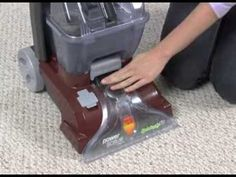 Cleaning the Nozzle: Hoover Power Scrub (Deluxe) Carpet Washer FH50140/FH50150 - YouTube