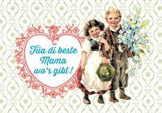 Striezi®-Grußkarte Muttertag