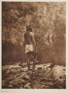 The Apache - Smithsonian Institution, via Flickr ~by Edward S. Curtis