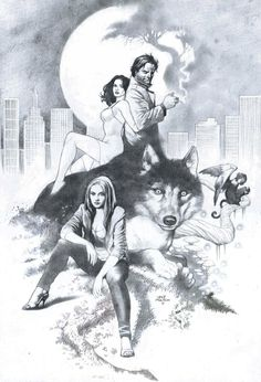 Fables with Red, Snow & Bigby by ~thepunisherone on deviantART