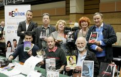 Equipe IS Edition (Marie Godard, Nicolas Marssac, Harald Benoliel, Jean-Loup Izambert, Jean-Bernard Durrault, Mahrk Gotié, Françoise Delsuc, François Vicari)