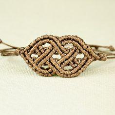 Celtic Style Macrame Bracelet