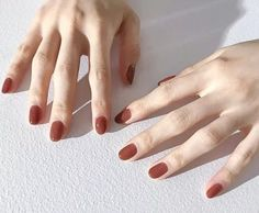 Usually because the students are busy studying, they are not suitable for choosing too complicated nail designs. Today, I recommend some simple and very beautiful nail designs for you. Simple Style and Lovely Style Minimalist Nails, Short Nail Designs, Cool Nail Designs, Solid Color Nails, Nail Colors, Bridal Nails, Wedding Nails, Ongles Kylie Jenner, Kendall Jenner Nails
