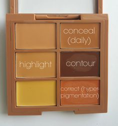 NYX Conceal.Correct.Contour Guide | thisbrownqueen.com