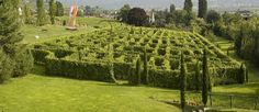 Il labirinto Vinicolo di Kranzelhof a Merano