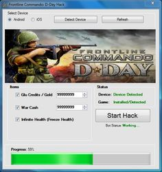 Frontline Commando D Day Hack Tool No Survey Free Download: No we have come with the one more of game in the frontline commando game series. Along this game we are going to give away a super functional cheats tool for this game. First of all, begin the story with a short summary that what … … Continue reading →