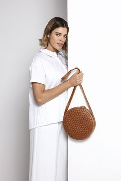 Leather Weaving, Toffee, Straw Bag, Leather Bag, Hand Weaving, Bags, Collection, Sticky Toffee, Handbags