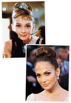 Top Trends That Made a Comeback - The Top Knot from #InStyle
