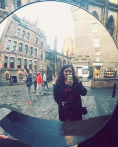 Camera obscura mirror selfie  #vscocam #vsco #vscoaddict #vscostagram #vscogrid #vscophoto #selfie #edinburgh #scotland #unitedkingdom #edi #medievalcity #scottish #igeurope #igdaily #instatravel #travel #traveladdict #wanderlust #exploring #travelgram #igscotland #igedinburgh #archidaily #archilovers by emmaiordache