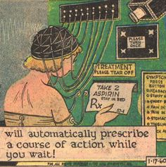 These 12 retrofuturistic gadget ideas from the '20s - '60s envisioned a 21st century full of robots, jet packs and bizarrely impractical kitchen appliances.