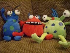 cute little monsters..