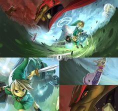 Zelda: Ocarina of Time by Coliandre.deviantart.com on @DeviantArt