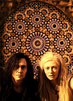 Good film, Tom Hiddleston is brilliant - you wouldn't think this is him would you? With Tilda Swinton #only lovers left alive