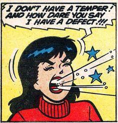 Veronica Lodge, Archie Comic Publications, Inc. https://www.pinterest.com/citygirlpideas/archie-comics/