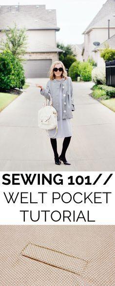 Welt Pocket Tutorial | See Kate Sew
