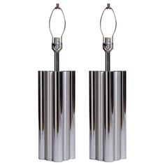 Tubular Metal Column Lamps by Mutual Sunset Company
