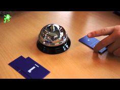 Uitleg van het spel 'Samen 5'. Doel: herkennen van de getalbeelden, de getalsymbolen en de splitsingen 0 tot en met 5.