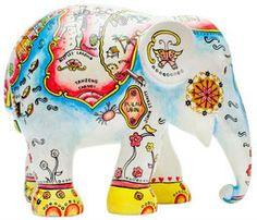 Elephant Parade Raffles landing 10cm