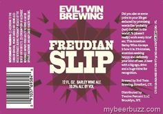 Evil Twin Freudian Slip Coming To 12oz Bottles