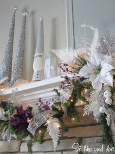 How-to Hang Ribbon on a Christmas Tree - The Blue Eyed Dove