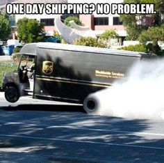One day shipping… #CarMeme