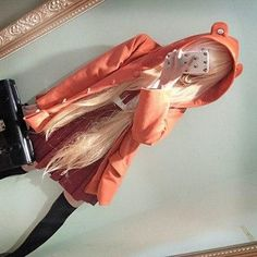 Tips: *Please double check above size and consider your measurements before order Kawaii Cosplay, Anime Cosplay, Cute Cosplay, Cosplay Makeup, Amazing Cosplay, Cosplay Costumes, Cosplay Lindo, Himouto Umaru Chan, Hair Color Purple