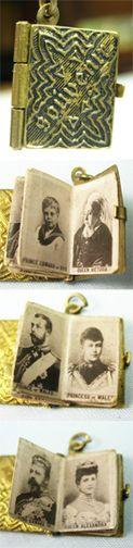English Royal Coronation family photo album book, ca 1900s ~ From the estate of Joan Munkacsi