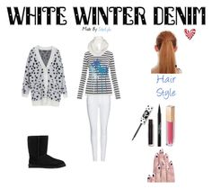 Designer Clothes, Shoes & Bags for Women Banjo And Matilda, Makeup Store, Character Outfits, White Denim, Winter White, Polyvore Fashion, Style Inspiration, Ugg Australia, Lime Crime
