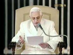 (4) EL PAPA DE LA RAZÓN: Benedicto XVI - YouTube