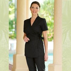 1000 images about spa uniforms on pinterest spa uniform for Spa uniform female