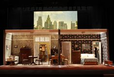 The Trip to Bountiiful. South Coast Repertory. Scenic design by Tom Buderwitz.