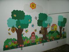 Enfeite porta de sala de aula em E.V.A        Painel em E.V.A                                                                       ...