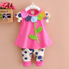 Yzxy Girls Clothing Sets Baby Kids Clothes Suit Children Sleeveless Flower T-shirt +pants Roupas Infantil Meninas Get the latest womens fashion online new styles every day from dresses, and more . shop womens clothing now! Baby Kids Clothes, Toddler Girl Outfits, Children Outfits, Boy Outfits, Fall Outfits, Summer Clothes, Toddler Leggings, Boy Leggings, Pantalon Costume