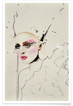 Paolo Roversi Series 3 als Premium Poster von Leigh Viner | JUNIQE