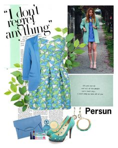 """""""Aqua"""" by polybaby ❤ liked on Polyvore featuring mode, Givenchy, Kate Spade, Marc Jacobs, Sugarpill en Estée Lauder"""