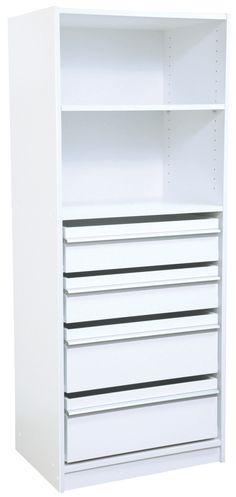 Wardrobe Unit Org Multistore 1495x608x430 2std 2jum Sh 315c