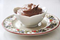 Husband friendly Chocolate Tofu Mousse. Yum.