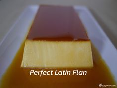 Perfect Latin Flan recipe from America's Test Kitchen. This is a smooth, silky f… Perfect Latin Flan recipe from America's Test Kitchen. This is a smooth, silky flan with great flavor and just enough sweetness. Cuban Flan Recipe, Mexican Food Recipes, Mexican Desserts, Sweet Desserts, Delicious Desserts, Yummy Food, Frozen Desserts, Yummy Eats, Mexican Flan