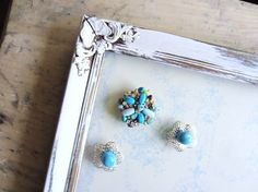 turn old earrings and broaches into magnets! Diy for command center magnet board and (tacks) for cork board