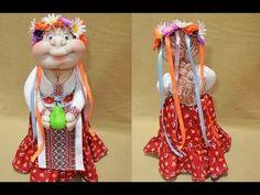 Кукла на чайник своими руками / Warmer doll for teapot (DIY) - YouTube