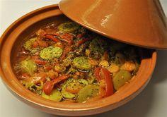 Tajine met (vegetarisch) gehakt en munt