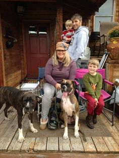 Jessie struck gold and found her new home with Celeste and Matthew's family, including their boxer Chip. She will have 10 acres of open range to explore, lots of critters to hunt and even a swimming hole. What more could a girl want? Happy trails Jessie and thank you for adopting Celeste and Matthew!