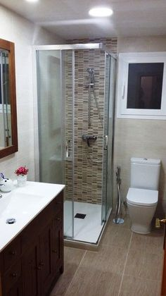 Striking Shower remodel tile,Shower remodel ideas budget and Bathroom shower remodeling before and after tricks. Bathroom Grey, Bathroom Layout, Master Bathroom, Bathroom Ideas, Bathroom Storage, Master Bedrooms, Bathroom Organization, Budget Bathroom, Bathroom Designs