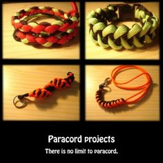 Paracord projects page.