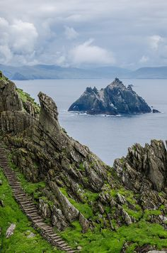 Skellig Islands, Kerry, Ireland by -Terrier-