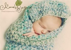 Newborn Baby Cocoon, Baby Boy Cocoon, Crochet Baby Cocoon, Photo Prop, Photography Prop MADE TO ORDER on Etsy, $25.00